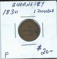 GUERNSEY 1830 1 DOUBLE