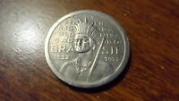 BRAZIL ND 1932  ONE HUNDRED REIS.  AWESOME ONE YEAR COIN.