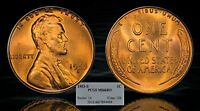 1953 S LINCOLN WHEAT CENT   PCGS MS66 RD   BEAUTIFUL RED GEM