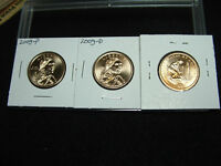 2009 P & D NATIVE AMERICAN GOLDEN DOLLAR SET FROM ROLLS