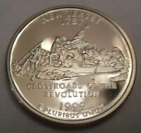 1999 S NEW JERSEY PROOF STATE QUARTER