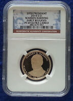 2014 S NGC PF69 E R WARREN HARDING PRESIDENTIAL DOLLAR PROOF  NGC  LABEL