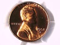 1958 D LINCOLN WHEAT CENT PCGS MS 65 RD 28263436