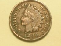 1899 INDIAN HEAD PENNY  VERY NICE DETAIL