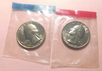 1776   1976 P,D WASHINGTON   FROM 1975 MINT SET