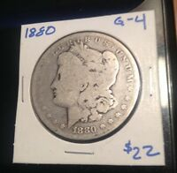 1880 MORGAN SILVER DOLLAR PHILADELPHIA MINT   90 PERCENT SILVER
