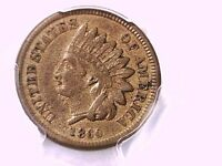 1860 INDIAN HEAD CENT PCGS XF 45 33348898