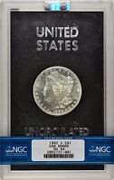 1882 S GSA NGC MS64 HARD PACK NON CC MORGAN SILVER DOLLAR TOUGH DATE