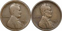 1913-S VG & 1916-S VF LINCOLN CENT - CHOICE ORIGINAL DUO