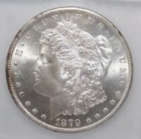 1879 S MORGAN SILVER DOLLAR IGC MINT STATE 66