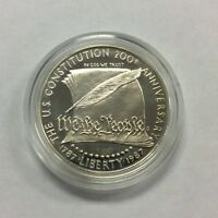 1787 1987 UNITED STATES CONSTITUTION 200TH ANNIVERSARY SILVER DOLLAR COIN