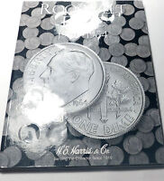 1946   1964 ROOSEVELT COLLECT COLLECTION 49 COIN'S IN NEW H.E. HARRIS FOLDER.