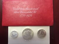 UNITED STATES BICENTENNIAL SILVER UNCIRCULATED SET. 1776 1976