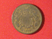 1870  TWO CENT PIECE / KEY DATE  .