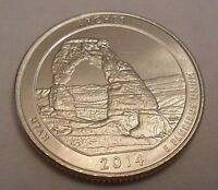 2014 D ARCHES NATIONAL PARK QUARTER