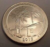 2013 P FORT MCHENRY QUARTER