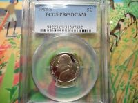 1988 S JEFFERSON NICKEL PCGS PR69DCAM CLAD UNCIRCULATED,PROOFCERTIFIEDSANFRANCIS