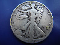 VERY NICE BETTER DATE 1940 S WALKING LIBERTY HALF IN F CONDITION.