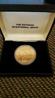 1776 1976 THE NATIONAL BICENTENNIAL MEDAL   LIBERTY  BOXED