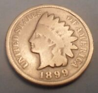 1899 INDIAN HEAD CENT / PENNY  SDS