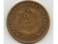 1867 TWO CENTS COIN IN  CONDITION WITH