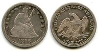 1856 O SEATED LIBERTY QUARTER NEW ORLEANS