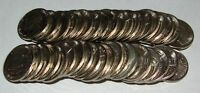 1968  S    GEM BRILLIANT NICKEL ROLL OF 40 COINS K68