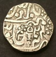 ORCHHA STATE SILVER RUPEE 1796 1842 CANNON WITH CANNONBALL   FROM USA