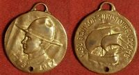 MEDAL: MILITARY: 1776   1917 WWI US ARMY BY EUSTACNE / COLUMBUS 3RD VOYAGE 1498