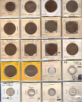LOT OF 23 1917 1951 INC  1931 & TWO 1920 NO DOT PENNIES VALUE OVER $300