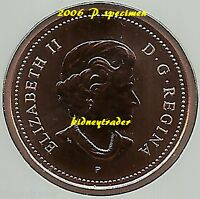 2006 P 1 CENT MAGNETIC SPECIMEN FROM RCM SPECIMEN SET