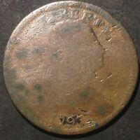 1797 DRAPED BUST LARGE CENT EARLY DATE 3755