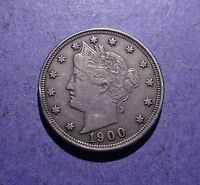 1910 LIBERTY V NICKEL EXTRA FINE