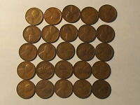 ROLL 1930 S LINCOLN WHEAT CENTS PENNY IN GOOD OR BETTER CONDITION 50 COINS