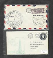 UNITED STATES U S 12 DIFFERENT FIRST FLIGHT COVERS 1930'S 11