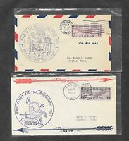 UNITED STATES U S 12 DIFFERENT FIRST FLIGHT COVERS 1930'S 13