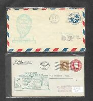 UNITED STATES U S 12 DIFFERENT FIRST FLIGHT COVERS 1930'S 17