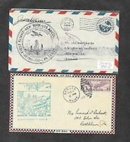 UNITED STATES U S 12 DIFFERENT FIRST FLIGHT COVERS 1930'S 19