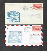 UNITED STATES U S 12 DIFFERENT FIRST FLIGHT COVERS 1940'S