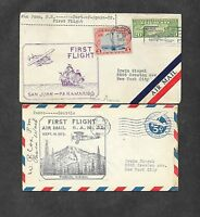 UNITED STATES U S 12 DIFFERENT FIRST FLIGHT COVERS 1920'S