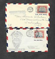 UNITED STATES U S 12 DIFFERENT FIRST FLIGHT COVERS 1920'S 2