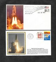 UNITED STATES 12 COLORANO SILK SPACE COVERS & OTHERS