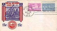 E17 13C MOTORCYCLE, STAEHLE FIRST DAY COVER CACHET [E134130]