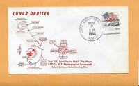 LUNAR ORBITER LAUNCHED NOV 7,1966 CAPE CANAVERAL