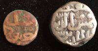 BAHAMANI SULTANATE LOT OF 2 OVER 500 YEARS OLD      FROM USA