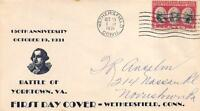 703 2C YORKTOWN, FIRST DAY COVER CACHET [E191167]