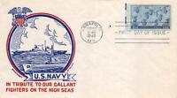935 3C NAVY, FIRST DAY COVER CACHET [E191458]