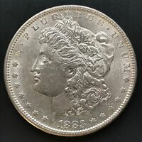 1883 S MORGAN DOLLAR SAN FRANCISCO SILVER UNC AU HIGH GRADE 4158