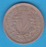 US COIN - 5 CENTS 1910, LIBERTY