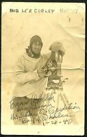 1940 US ANTARCTIC EXPEDITION REAL PHOTO POST CARD. FREE POSTAGE